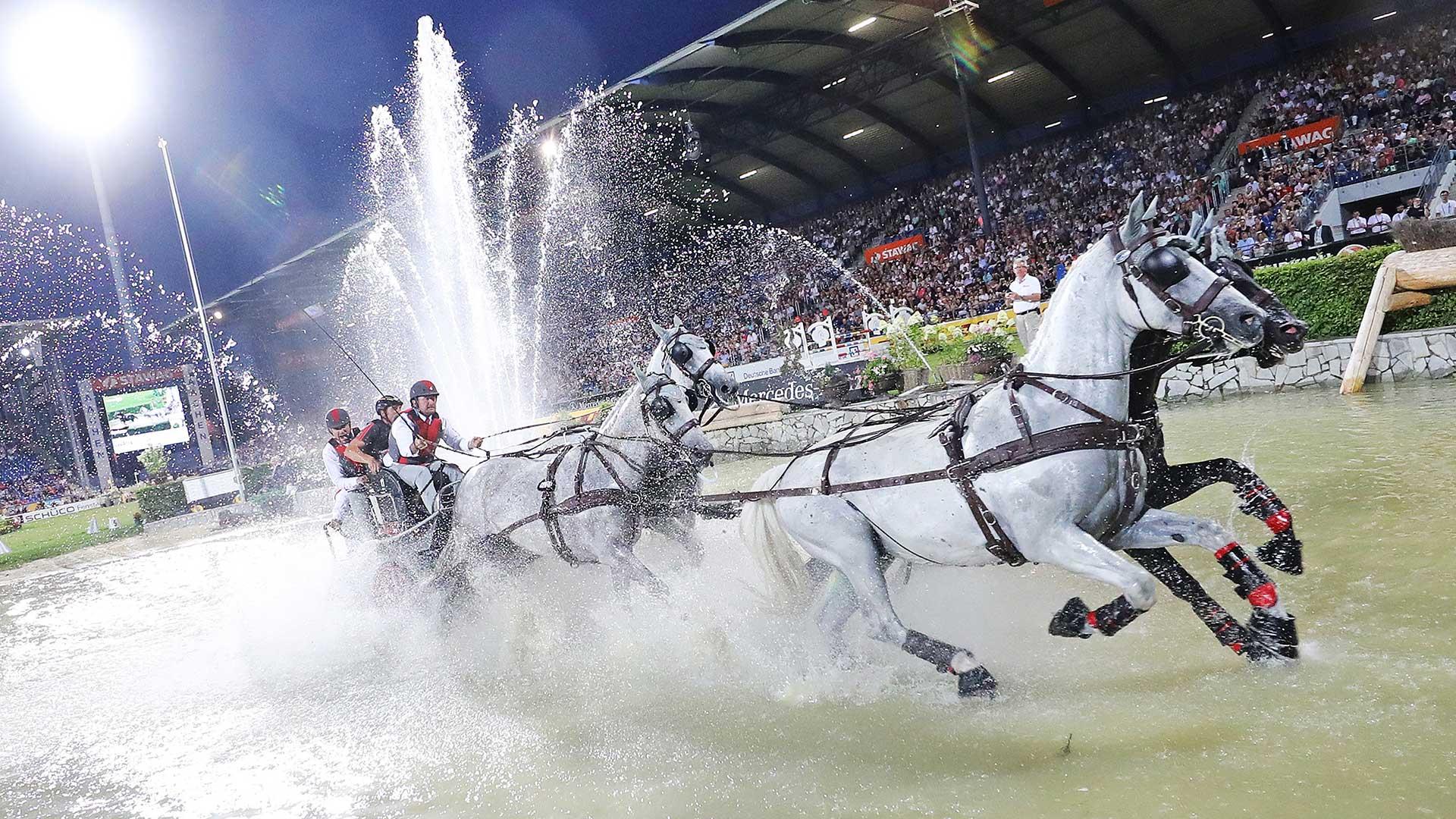 World Equestrian Festival Chio Aachen Daimani