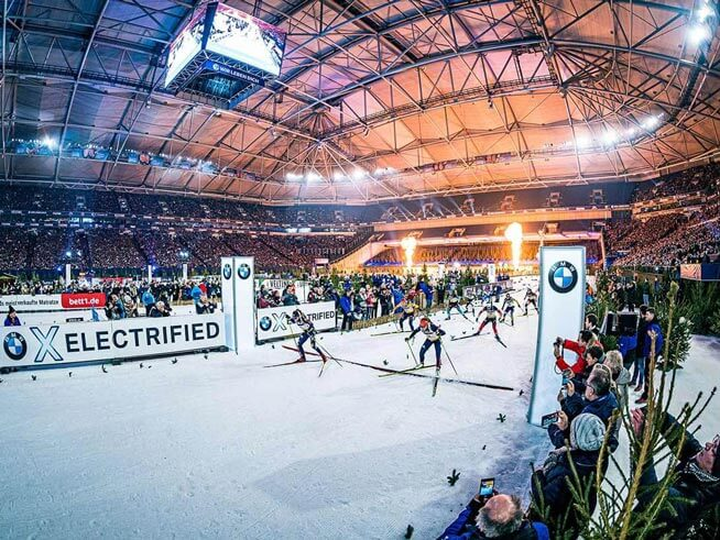 JOKA Biathlon World Team Challenge auf Schalke
